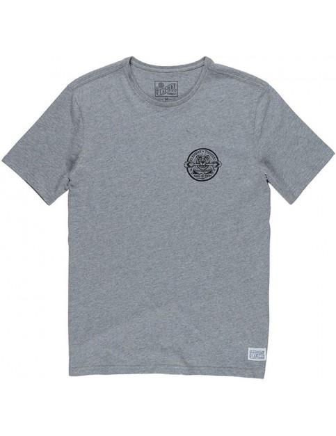 Element Roar n Row Short Sleeve T-Shirt in Grey Heather