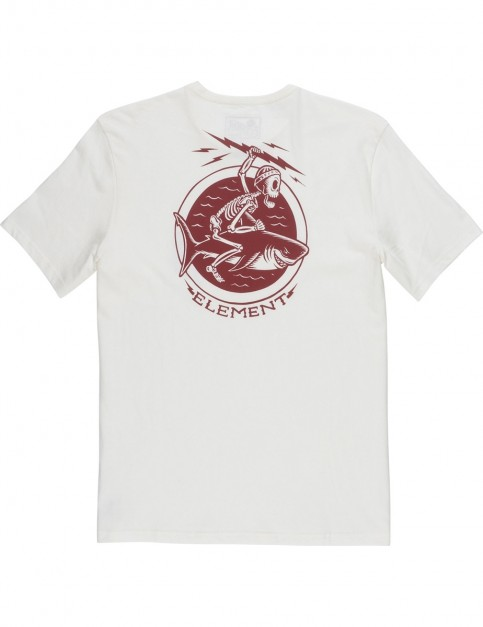 Element Rodeo Short Sleeve T-Shirt in Bone White