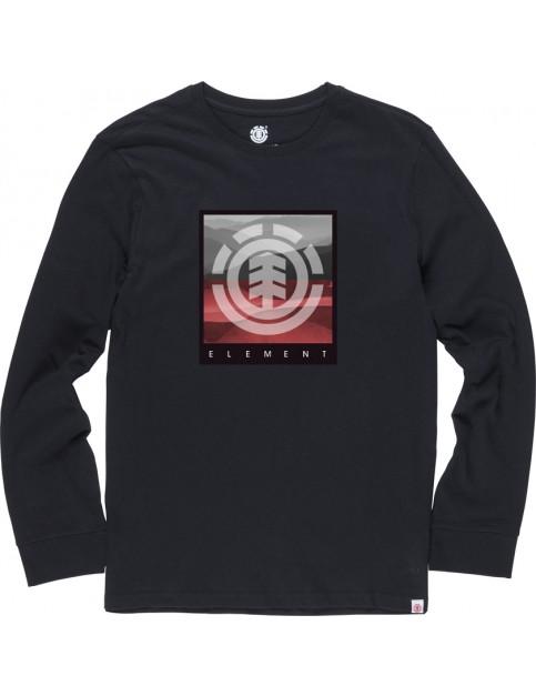 Element Rolling Long Sleeve T-Shirt in Flint Black