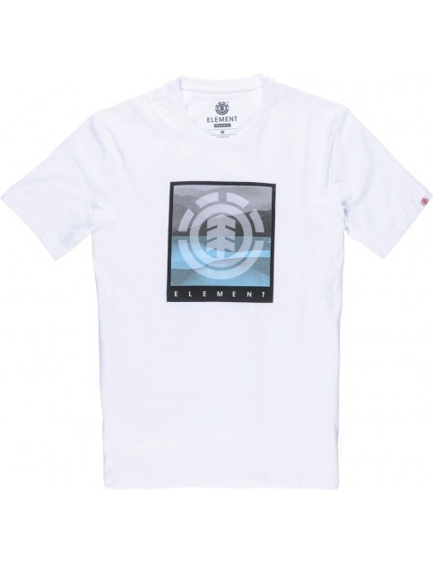 Element Rolling Short Sleeve T-Shirt in Optic White