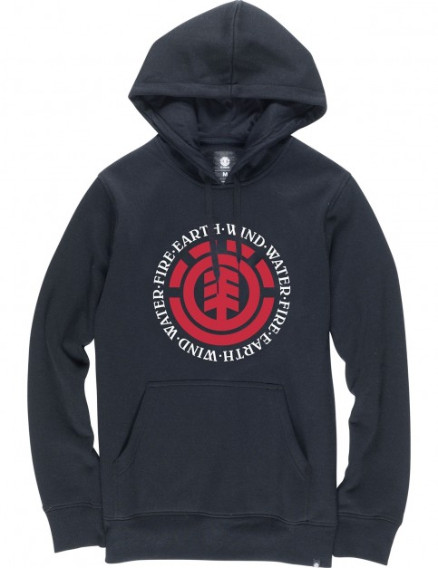 Element Seal Pullover Hoody in Flint Black