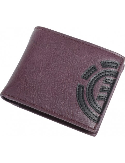 Element Segur Faux Leather Wallet in Napa Red