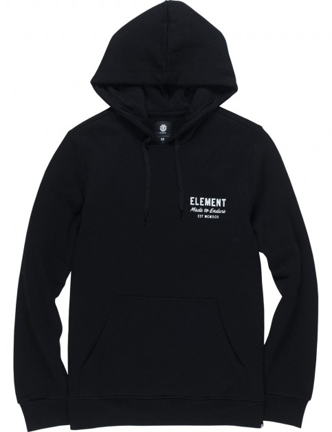 Element Sign Pullover Hoody in Flint Black