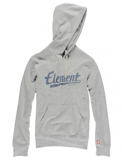 Grey Heather Element Signature Pullover Hoody