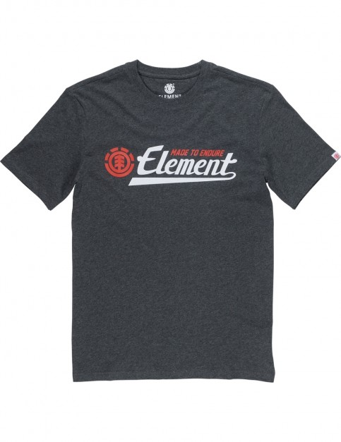 Element Signature Short Sleeve T-Shirt in Charcoal Heathe