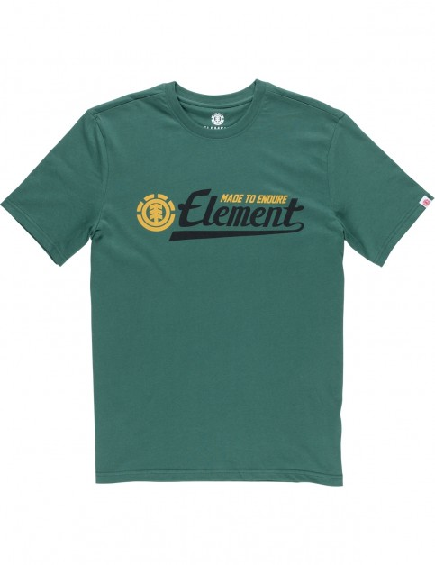 Element Signature Short Sleeve T-Shirt in Hunter Green