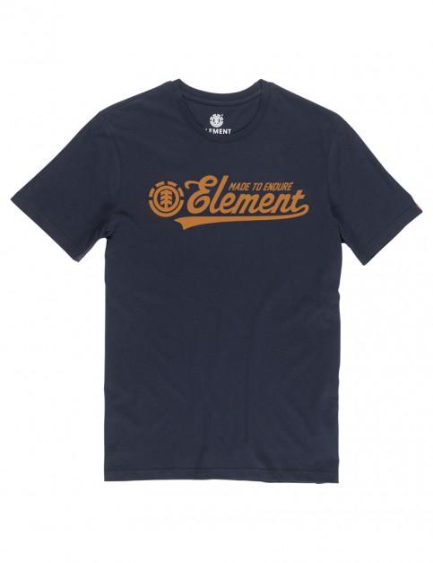 Eclipse Navy Element Signature Short Sleeve T-Shirt