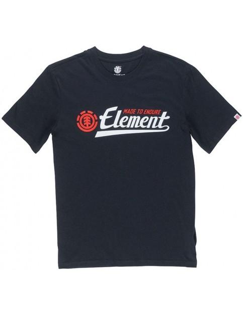 Element Signature Short Sleeve T-Shirt in Flint Black