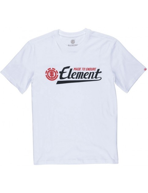 Element Signature Short Sleeve T-Shirt in Optic White