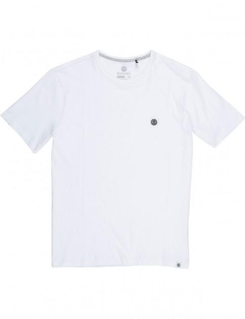 Element Soft Ringer Short Sleeve T-Shirt in Optic White