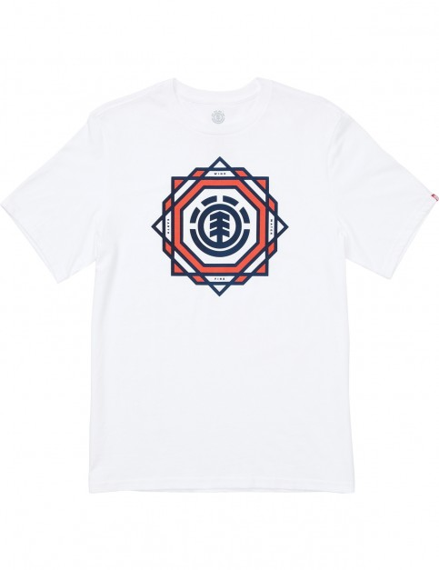 Element Spectrum Ss Short Sleeve T-Shirt in Optic White