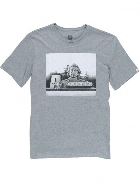 Element Stein Short Sleeve T-Shirt in Grey Heather