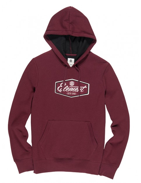 Element Stevson Pullover Hoody in Napa Red