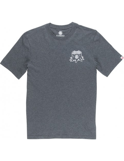 Element Stump Short Sleeve T-Shirt in Charcoal Heather