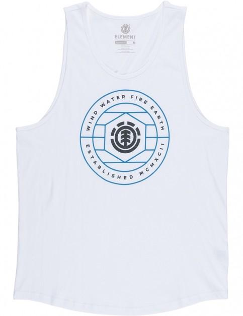 Element Swivel Sleeveless T-Shirt in Optic White