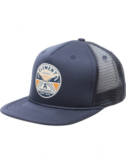 Element Symbol Trucker Cap in Eclipse Navy