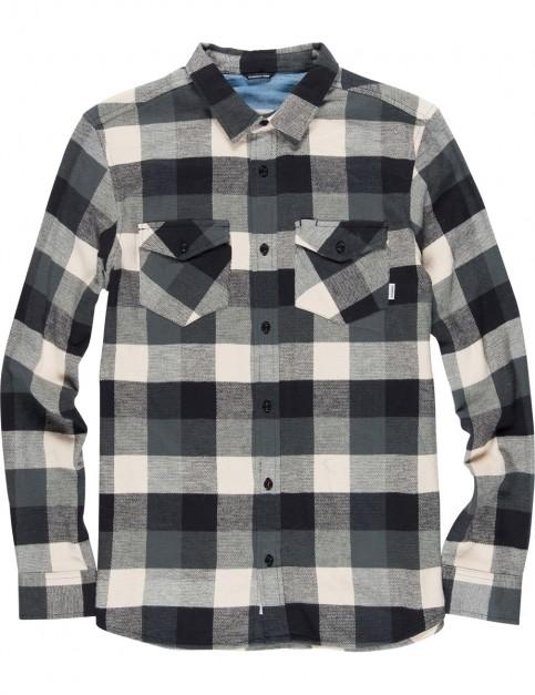 Element Tacoma 2.0 Long Sleeve Shirt in Flint Black