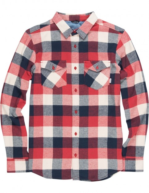 Element Tacoma 2.0 Long Sleeve Shirt in Pompeian Red
