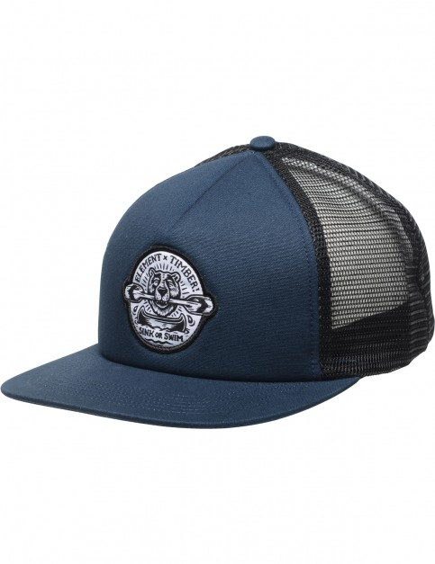 Element Timber Trucker Cap in Eclipse Navy