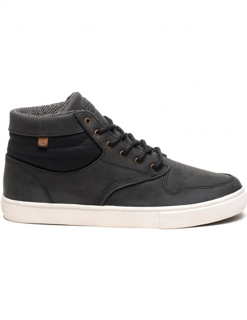 Element Topaz C3 Mid Trainers in Black Premium