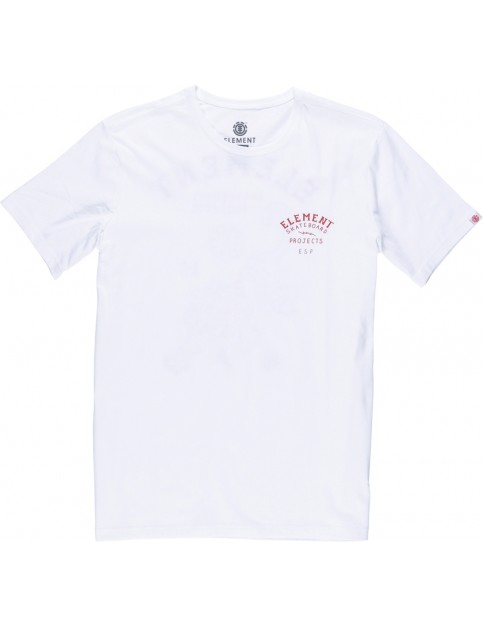 Element Tour Tee Short Sleeve T-Shirt in Optic White