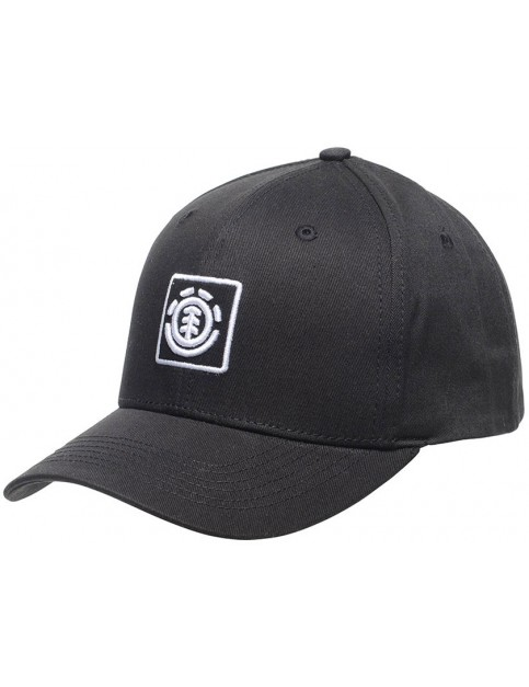 Element Treelogo Cap in Off Black
