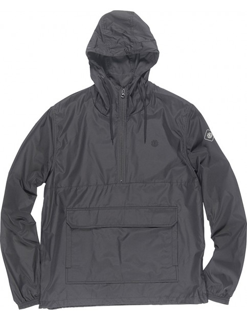 Element Trevor Rain Jacket in Flint Black