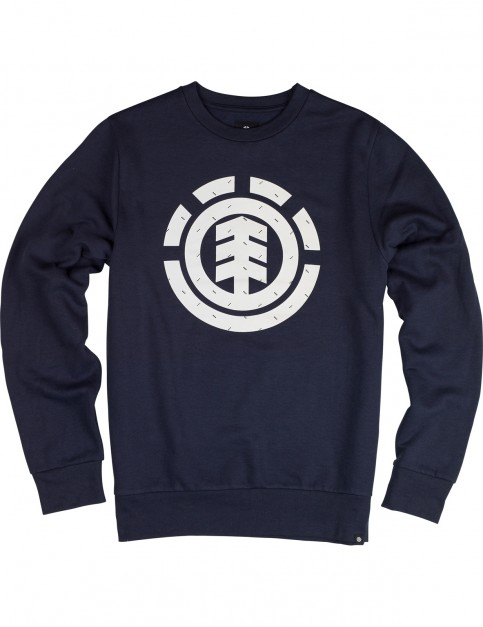 Element Tri Dot Crew Sweatshirt in Eclipse Navy