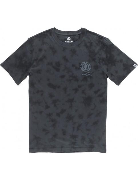 Element Valley Short Sleeve T-Shirt in Flint Black