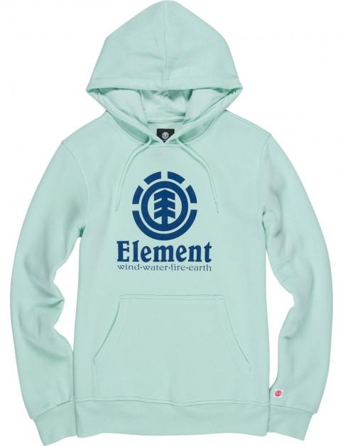 Element Vertical Pullover Hoody in Brook Green