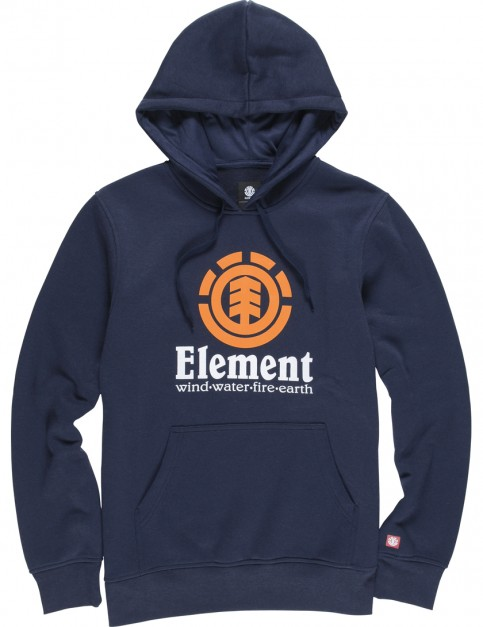 Eclipse Navy Element Vertical Pullover Hoody