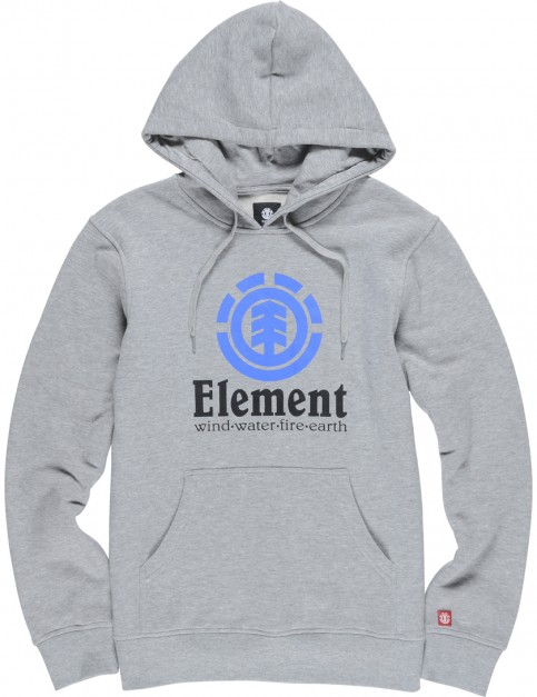 Element Vertical Pullover Hoody in Grey Heather