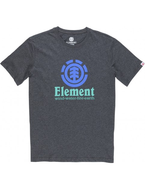 Element Vertical Short Sleeve T-Shirt in Charcoal Heather
