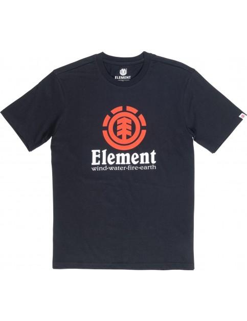 Element Vertical Short Sleeve T-Shirt in Flint Black