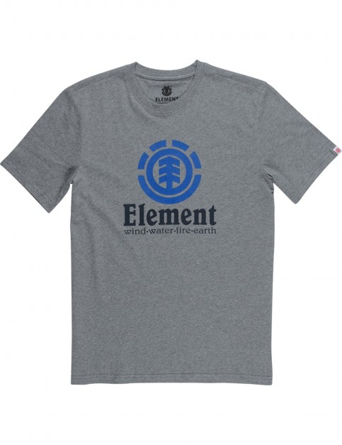 Element Vertical Short Sleeve T-Shirt in Grey Heather