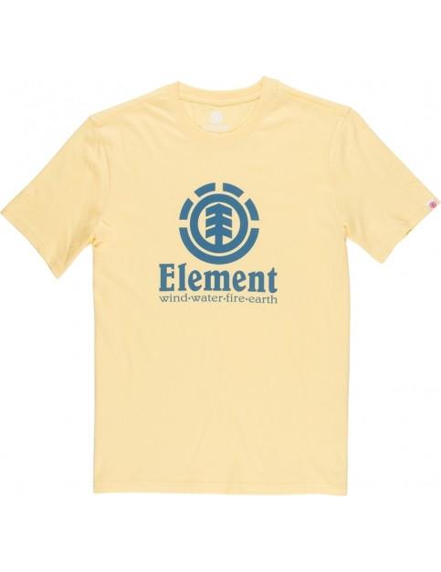 Element Vertical Short Sleeve T-Shirt in Popcorn