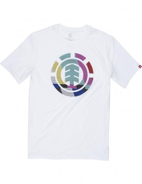 Element VHS Short Sleeve T-Shirt in Optic White