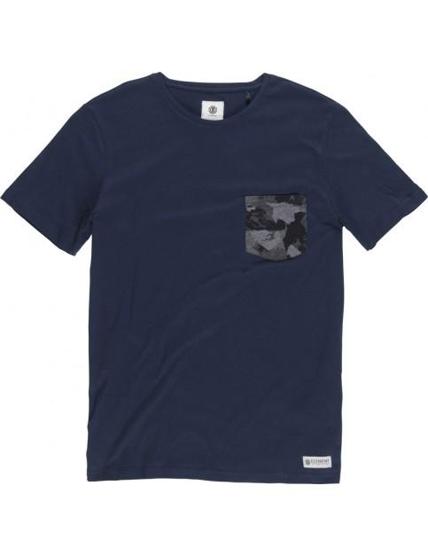 Element Volson Crew Short Sleeve T-Shirt in Eclipse Navy