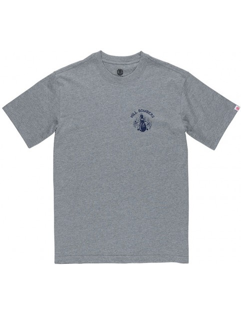 Element Wobble Short Sleeve T-Shirt in Grey Heather