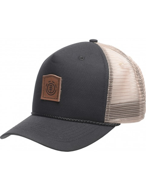 Element Wolfeboro Trucker Cap in Flint Black