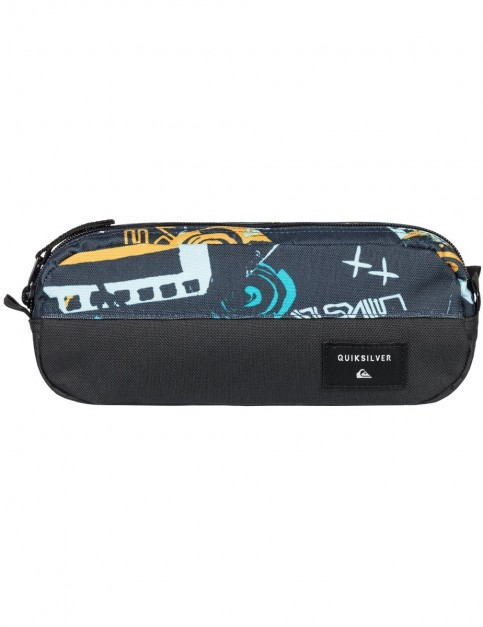 Quiksilver Tasmen Pencil Case in Navy Blazer