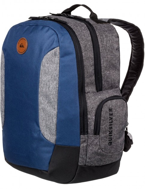 Quiksilver Schoolie II Backpack in Medieval Blue Heather