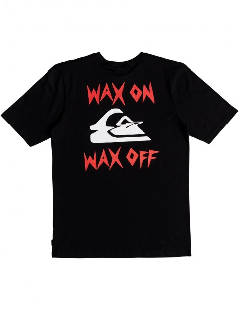 Quiksilver Wax Job Short Sleeve T-Shirt in Black