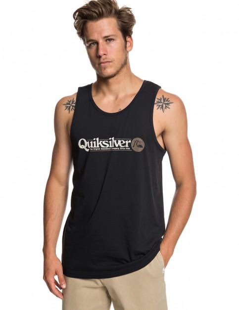 Quiksilver Art Tickle Sleeveless T-Shirt in Black