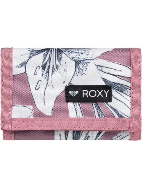 Roxy Small Beach 2 Polyester Wallet in Withered Rose Lily House