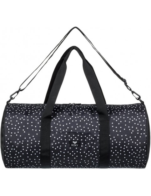 Roxy Kind Of Way Holdall in True Black Dots For Days