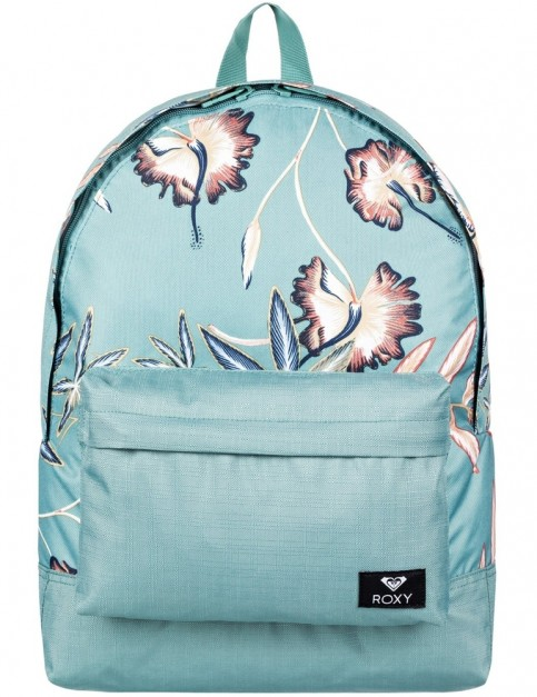 Roxy Sugar Baby Mix Backpack in Trellis Bird Flower