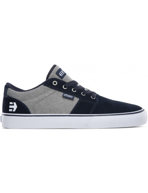 Etnies Barge LS Trainers in Navy/Grey/Silver