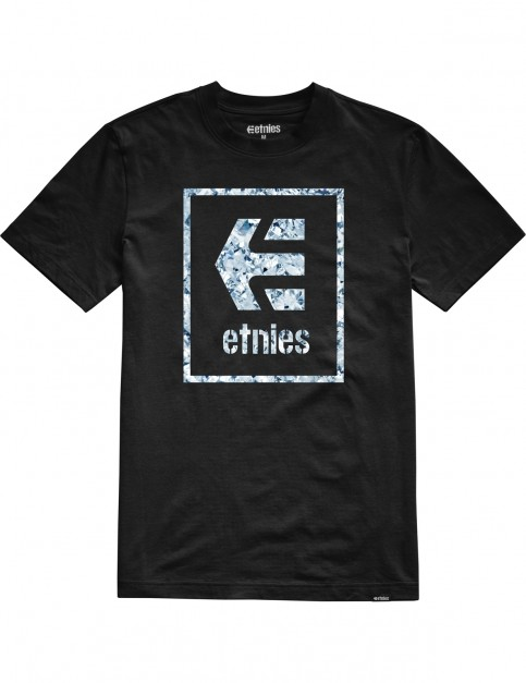Etnies Bloodline Icon Short Sleeve T-Shirt in Black