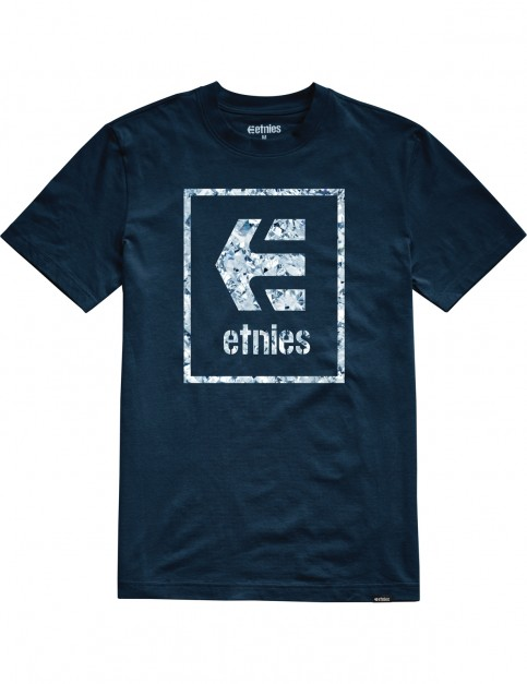 Etnies Bloodline Icon Short Sleeve T-Shirt in Navy